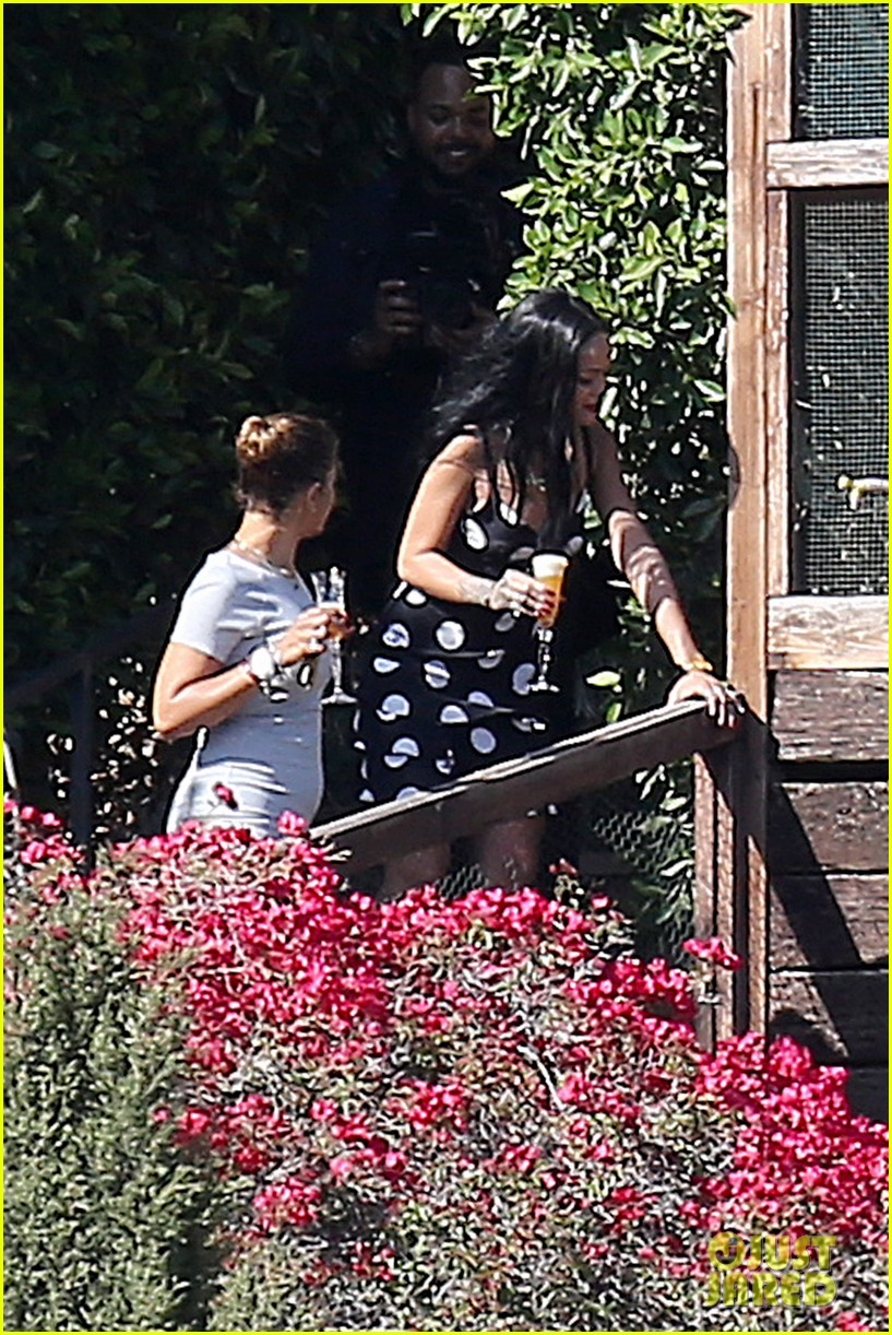 rihanna spends mothers day with family at malibu mansion 213111590
