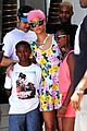 rihanna thinks summer needs to slow down a little in la 02