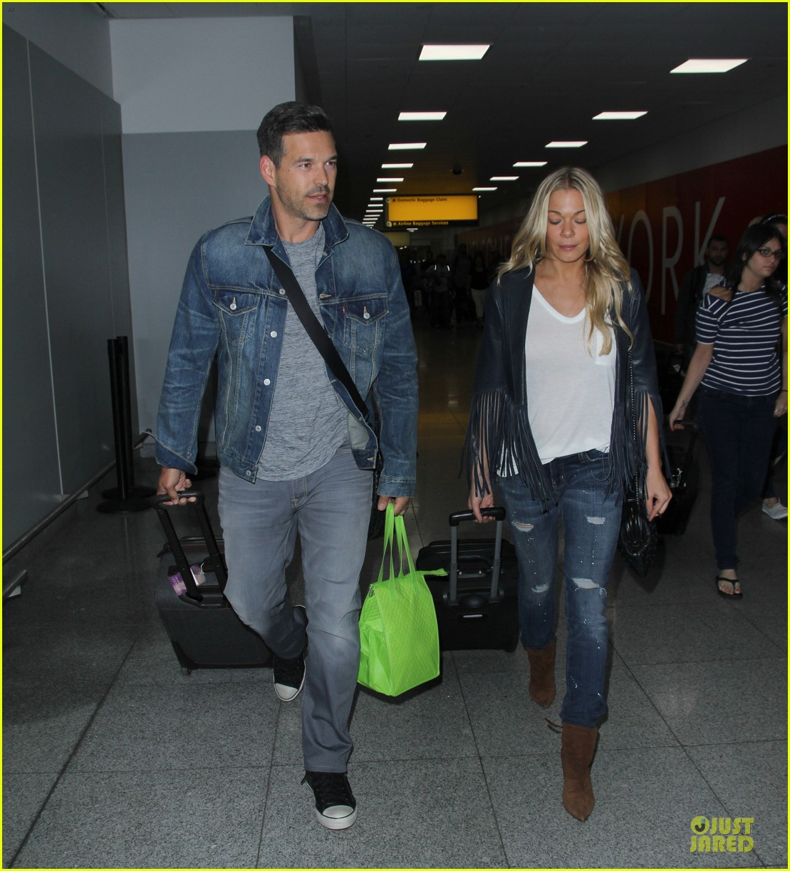 leann rimes eddie cibrian denim pair in nyc 103117953