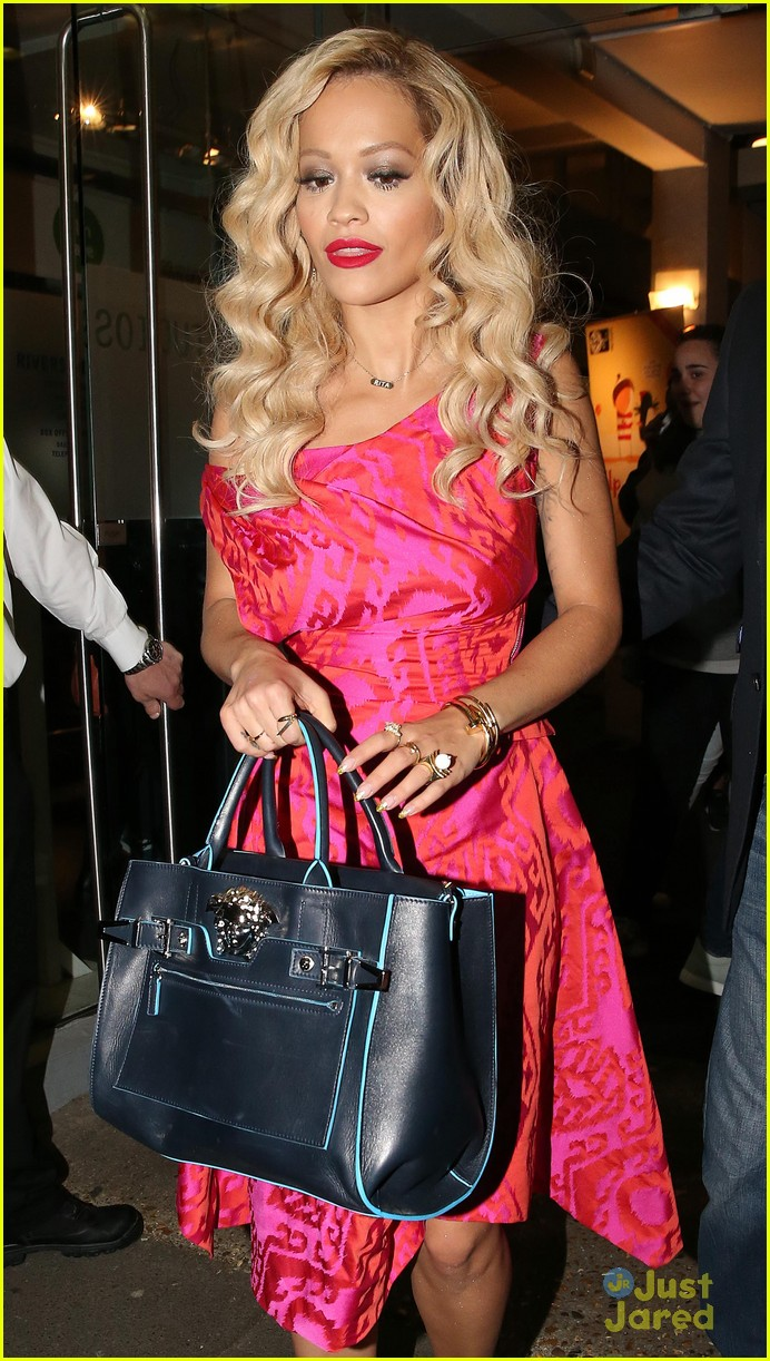 rita ora basket flowers pink dress 023109922
