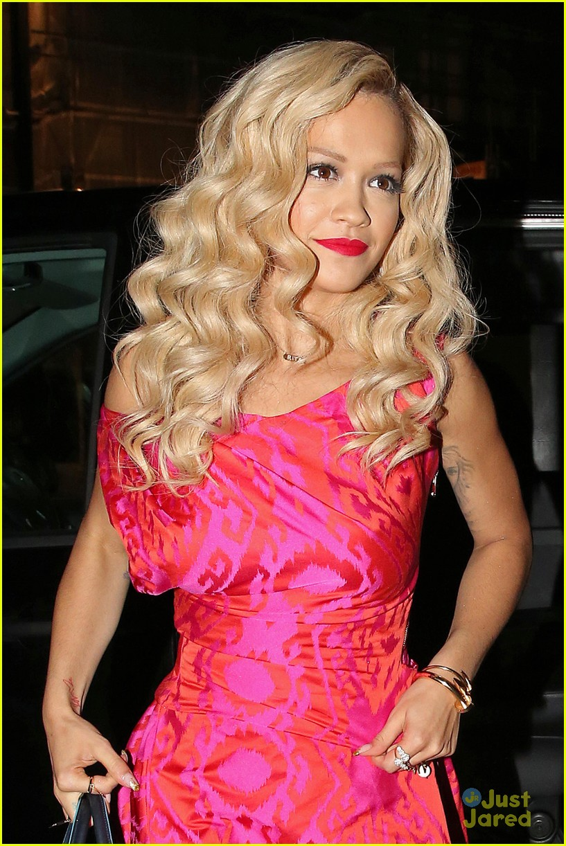 rita ora basket flowers pink dress 143109934