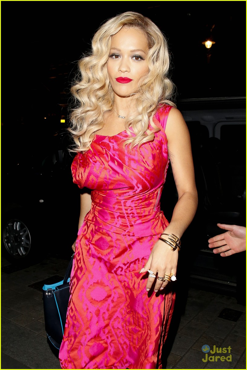 rita ora basket flowers pink dress 24