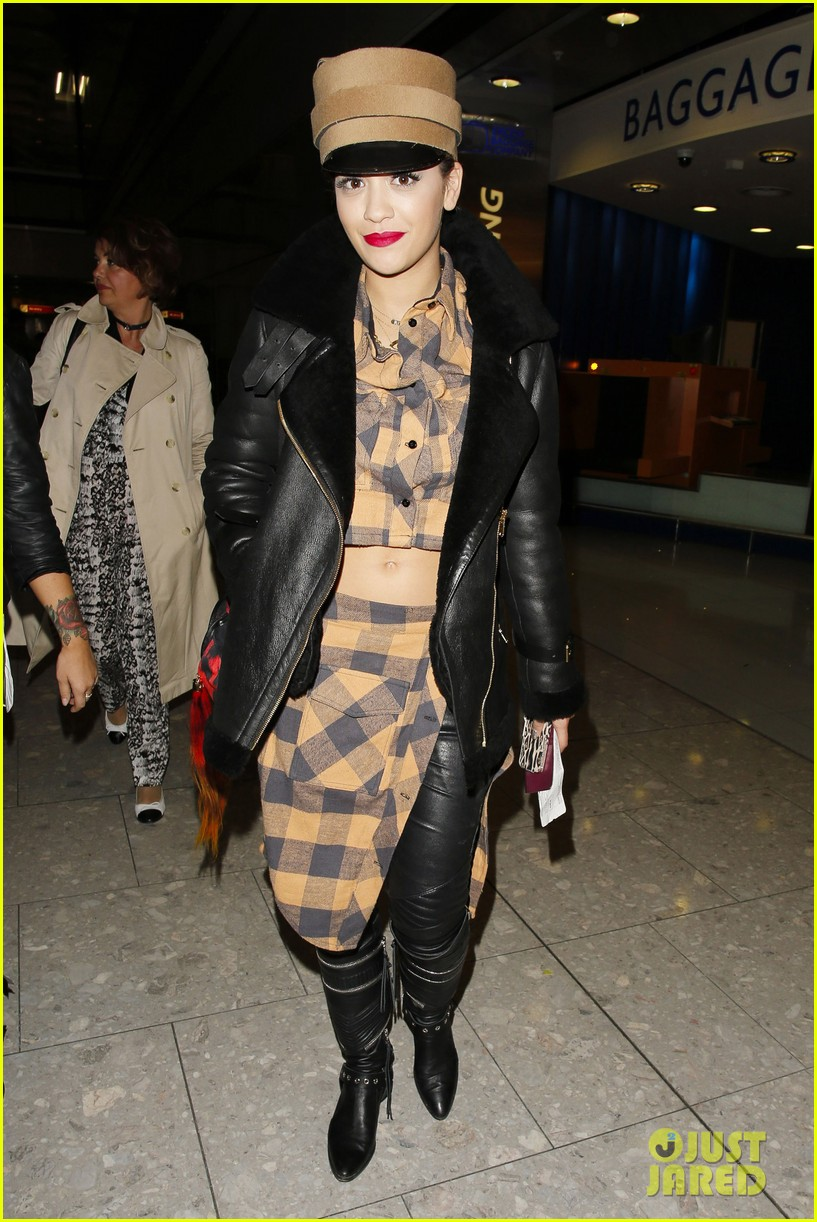 rita ora red bombshell paris 013122993