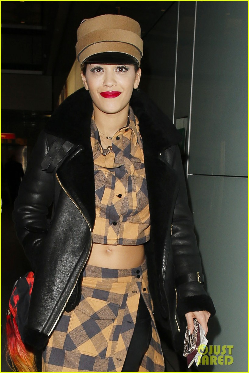 rita ora red bombshell paris 063122998