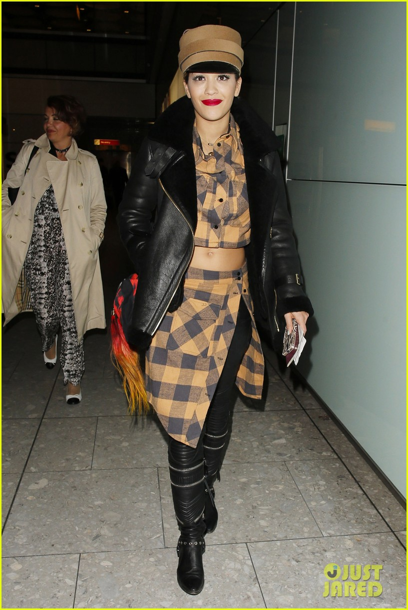 rita ora red bombshell paris 093123001