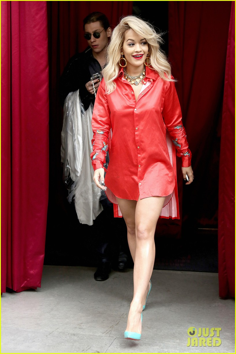rita ora red bombshell paris 313123023