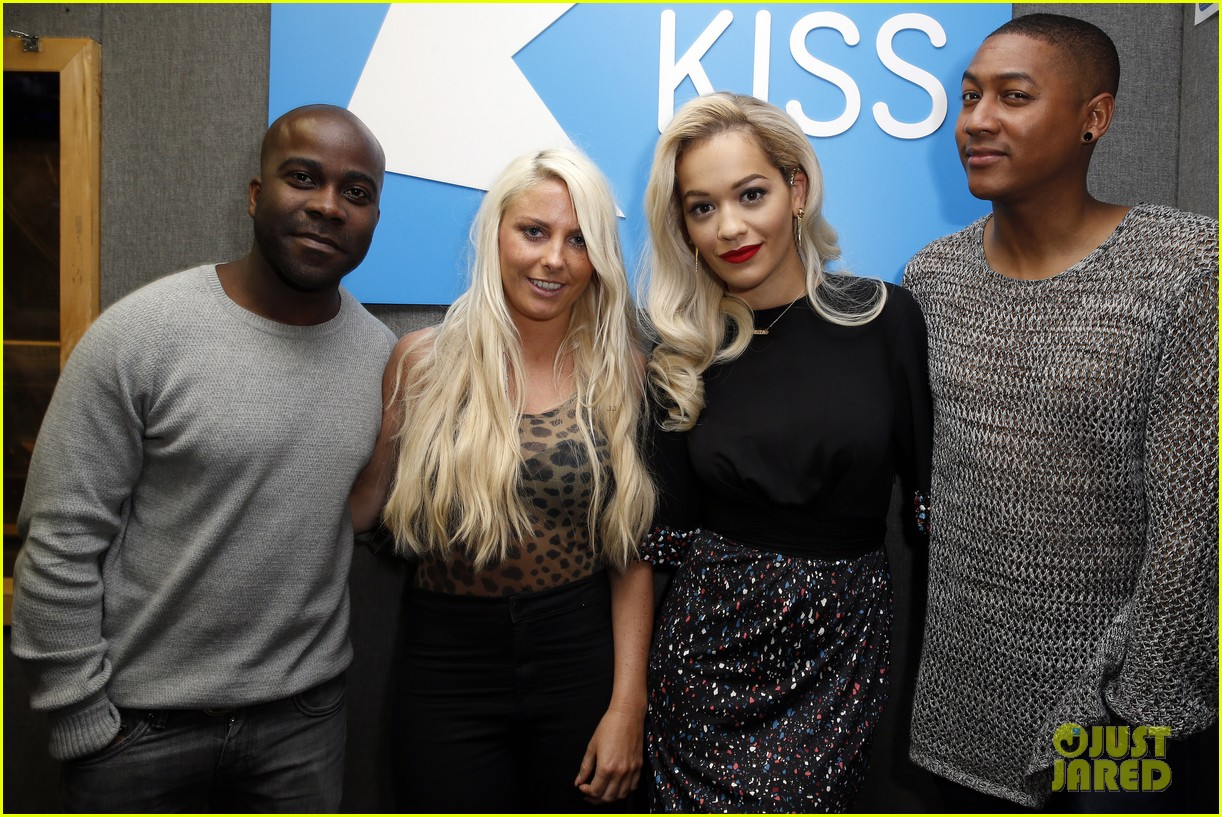 rita ora celebrates no 1 single topless 083112900