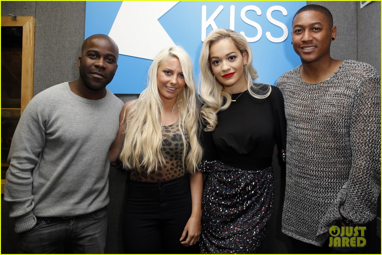 rita ora celebrates no 1 single topless 09