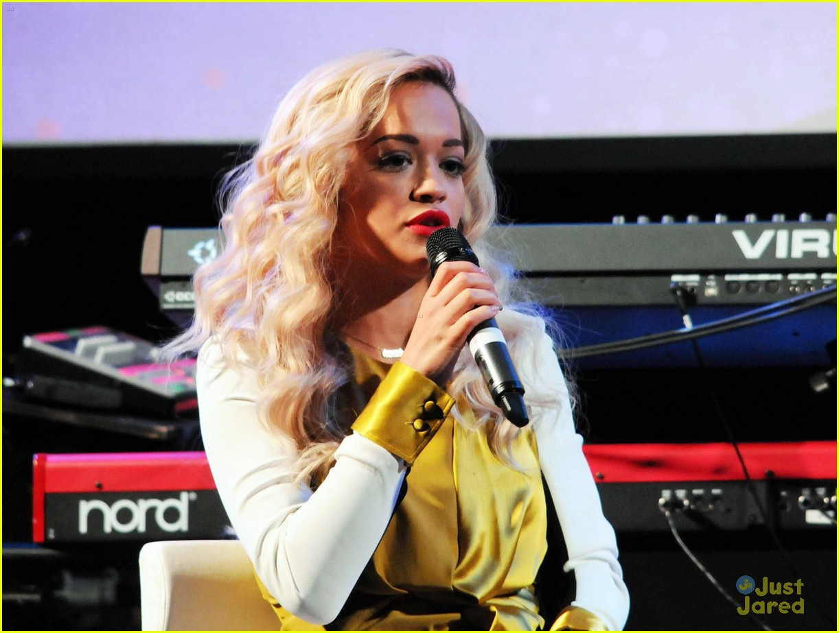 rita ora performs queen margaret union 143112944