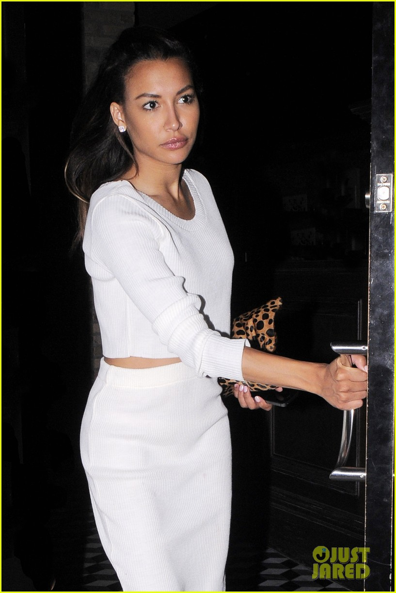 naya rivera dinner out craigs 11