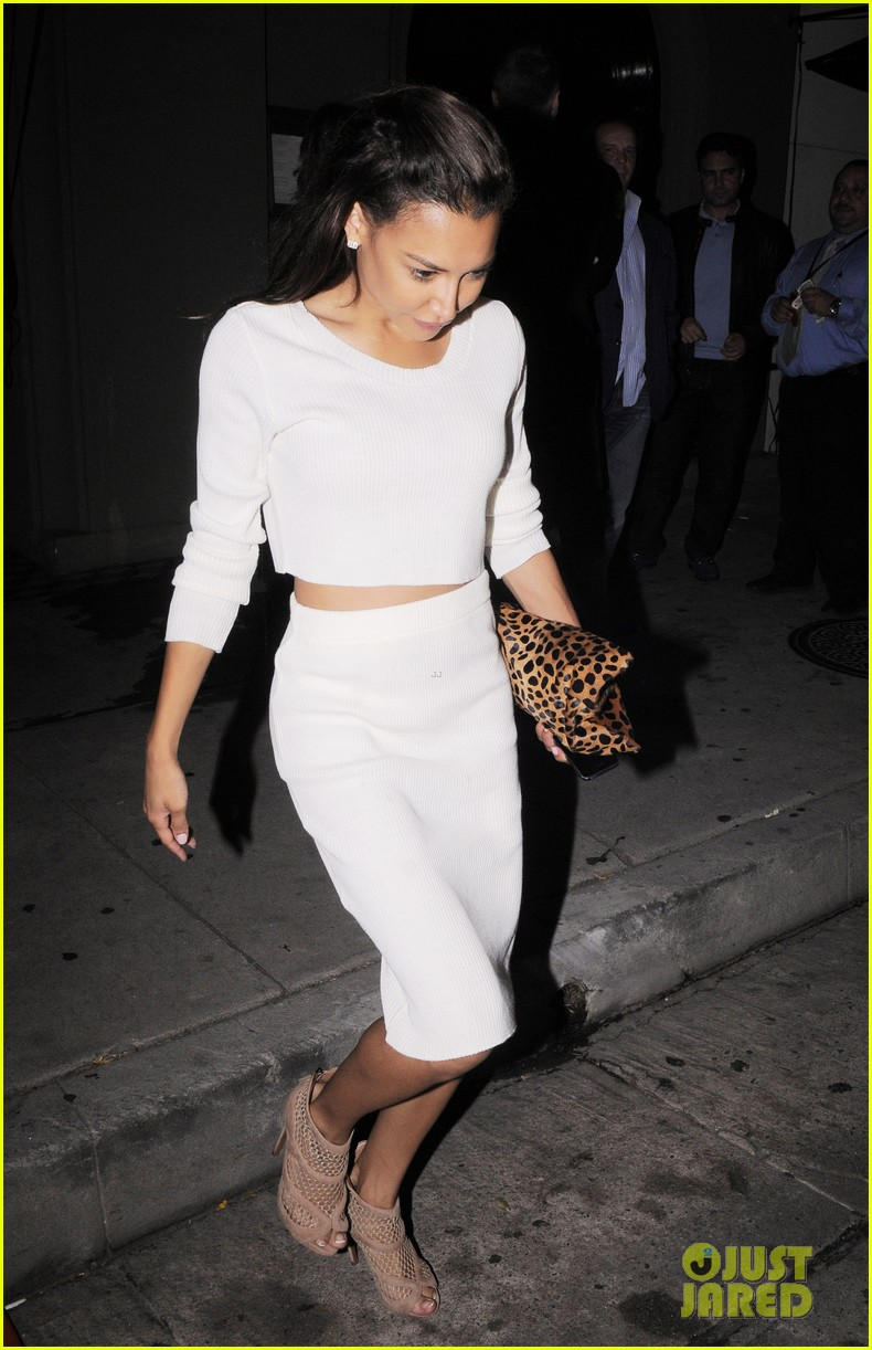 naya rivera dinner out craigs 133124687