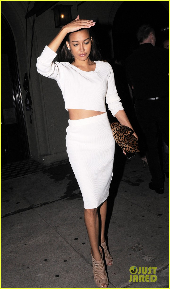 naya rivera dinner out craigs 15