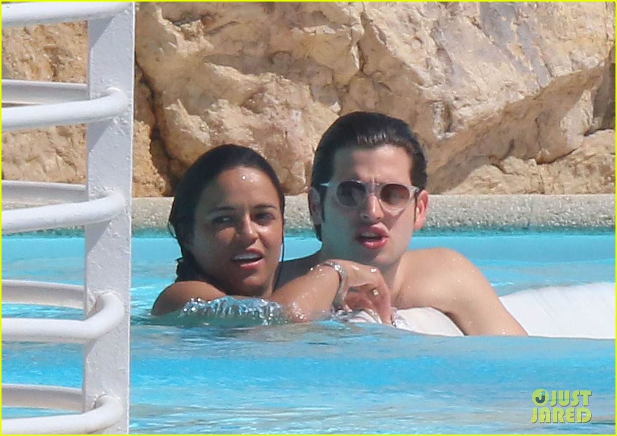 michelle rodriguez bikini poolside in cannes 073120684