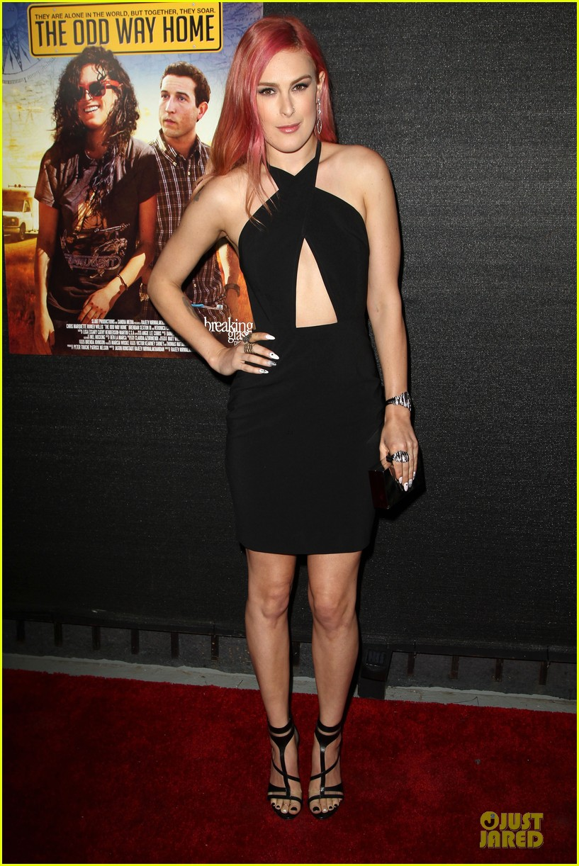 rumer willis odd way premiere 033125101