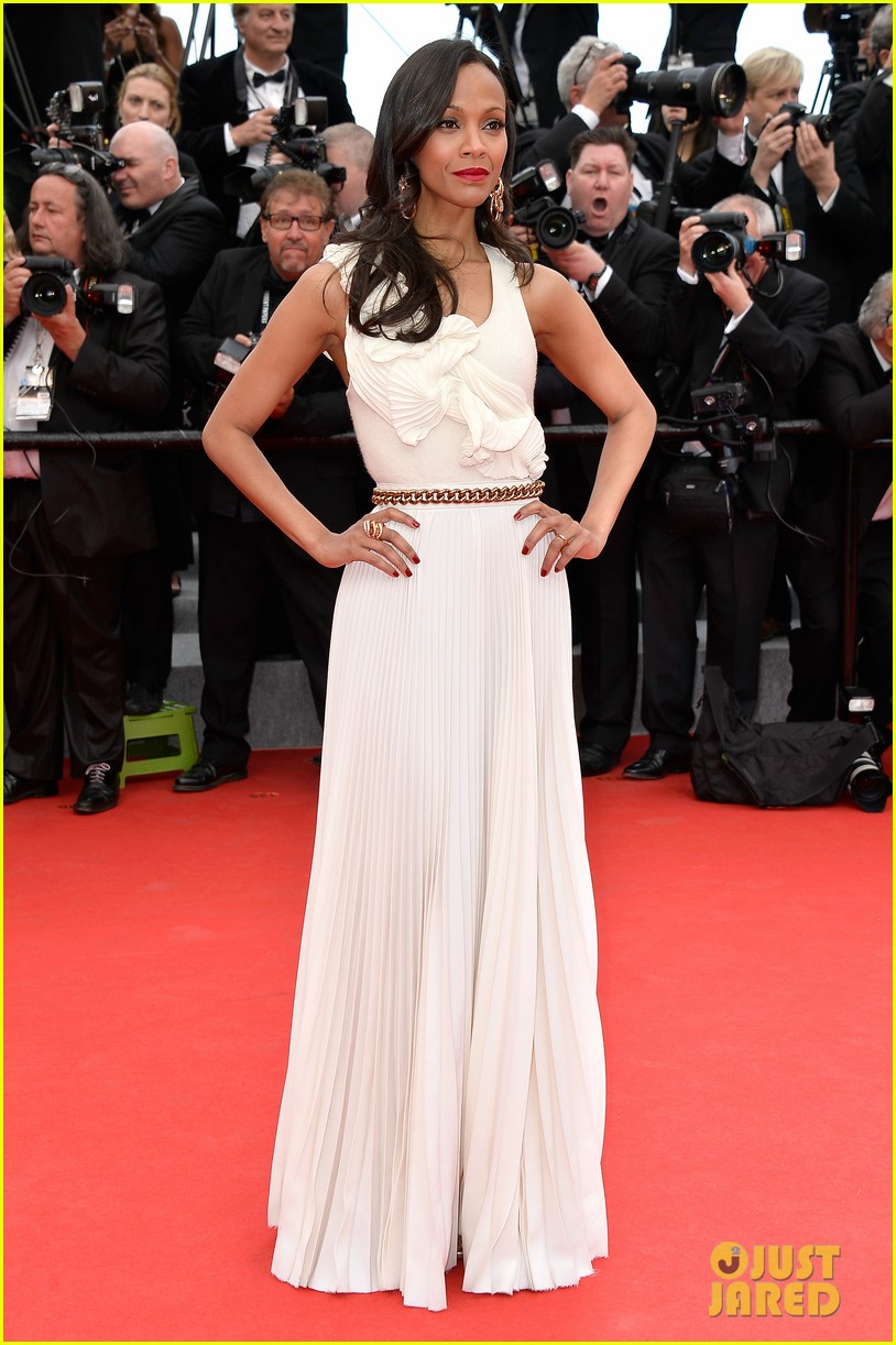 zoe saldana ziyi zhang epitomize class at cannes opening ceremony 03