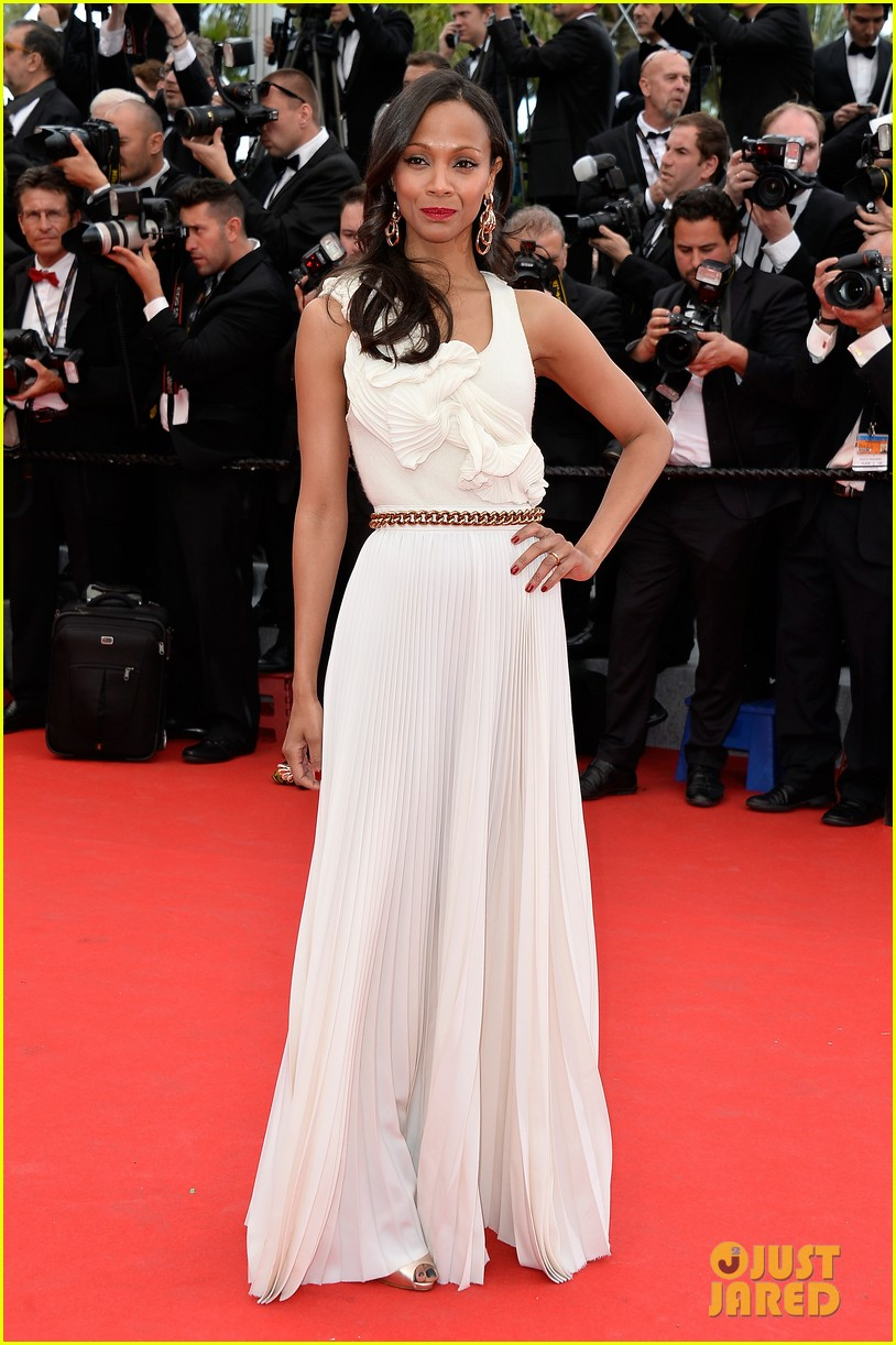 zoe saldana ziyi zhang epitomize class at cannes opening ceremony 103113214