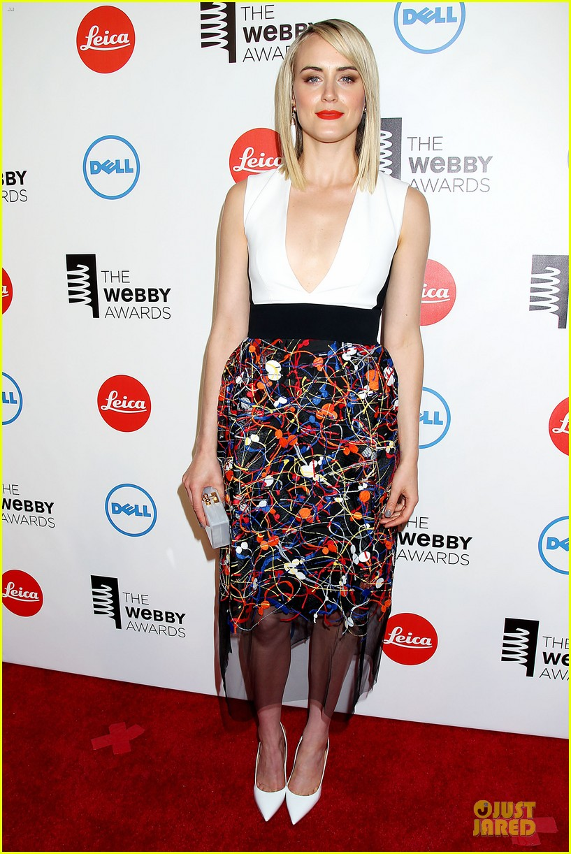 taylor schilling actress of the year at webby awards 013117805