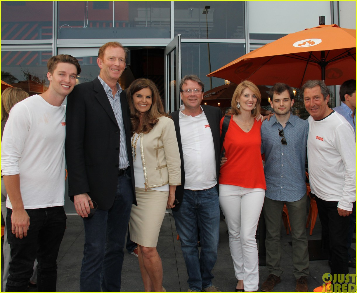 patrick schwarzenegger celebrates the opening of blaze pizza with family and friends023121530