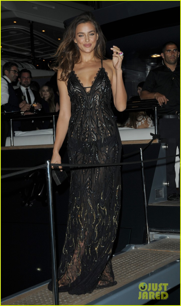 irina shayk green goddess at search premiere cannes 183119646