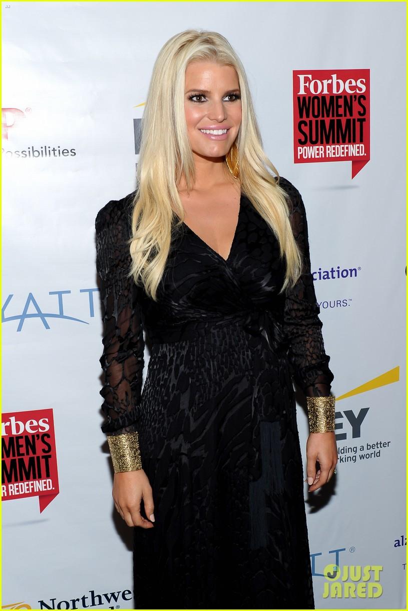 jessica simpson stunning slim forbes womens summit 12