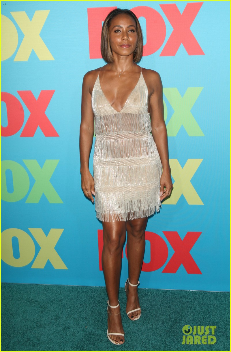 will smith joins wife jada in new york city for fox upfronts 07