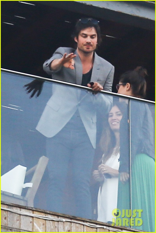 ian somerhalder blows kisses to fans from rio hotel balcony 213125065