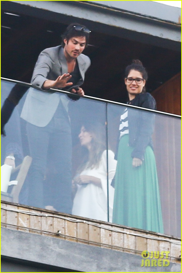 ian somerhalder blows kisses to fans from rio hotel balcony 263125070