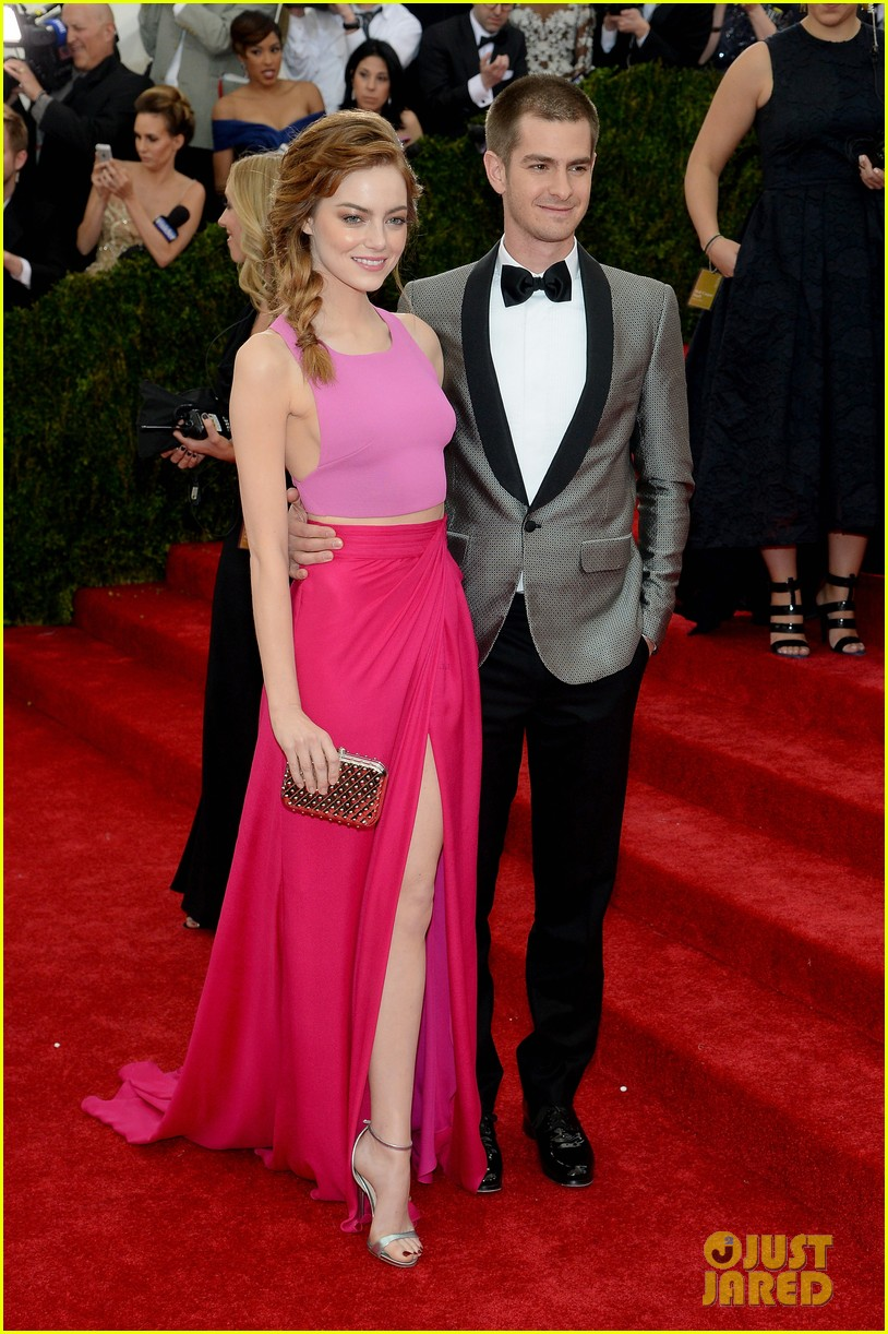 andrew garfield only has eyes for emma stone at met ball 2014 033106146