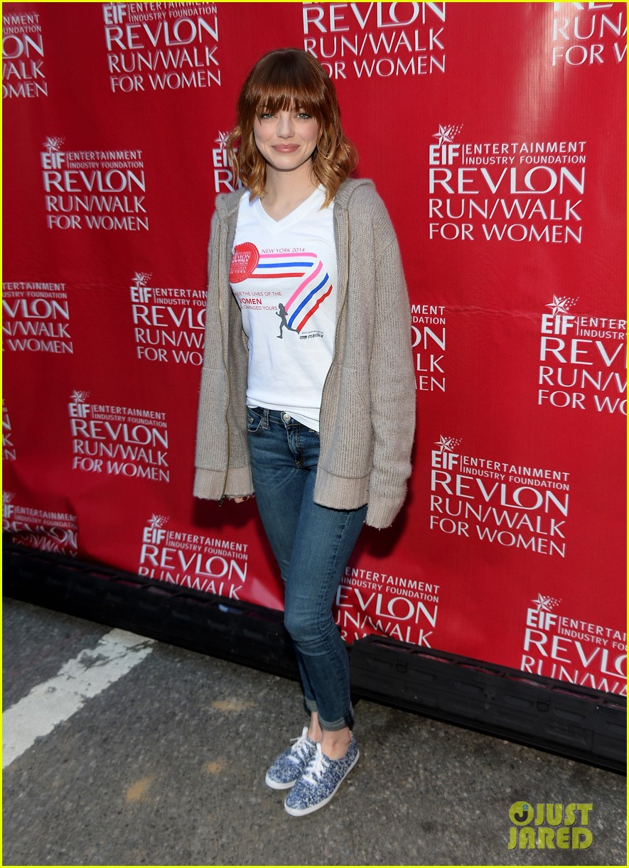 emma stone revlon run walk for women 013104186