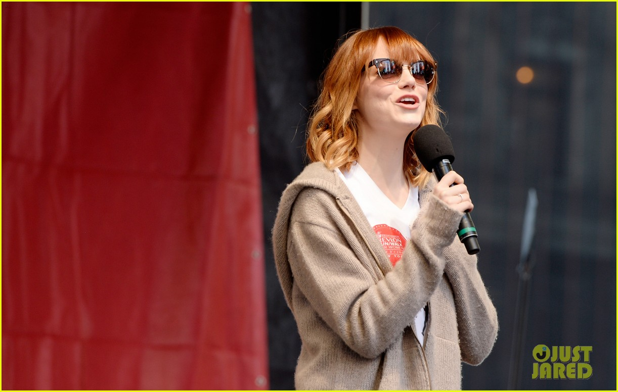 emma stone revlon run walk for women 163104201