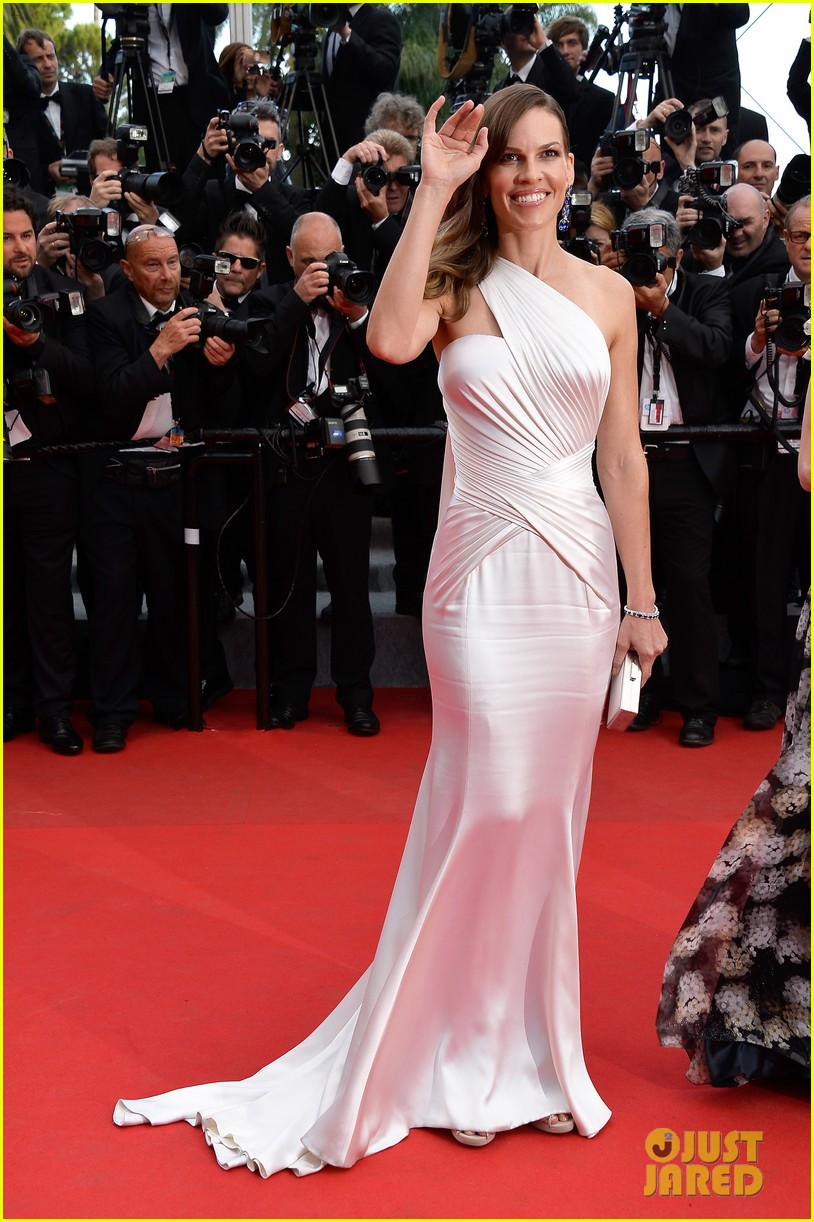 hilary swank the homesman premiere photo call cannes 153116448
