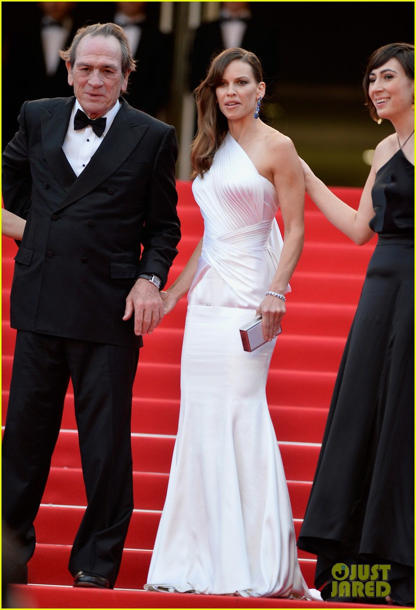 hilary swank the homesman premiere photo call cannes 203116453