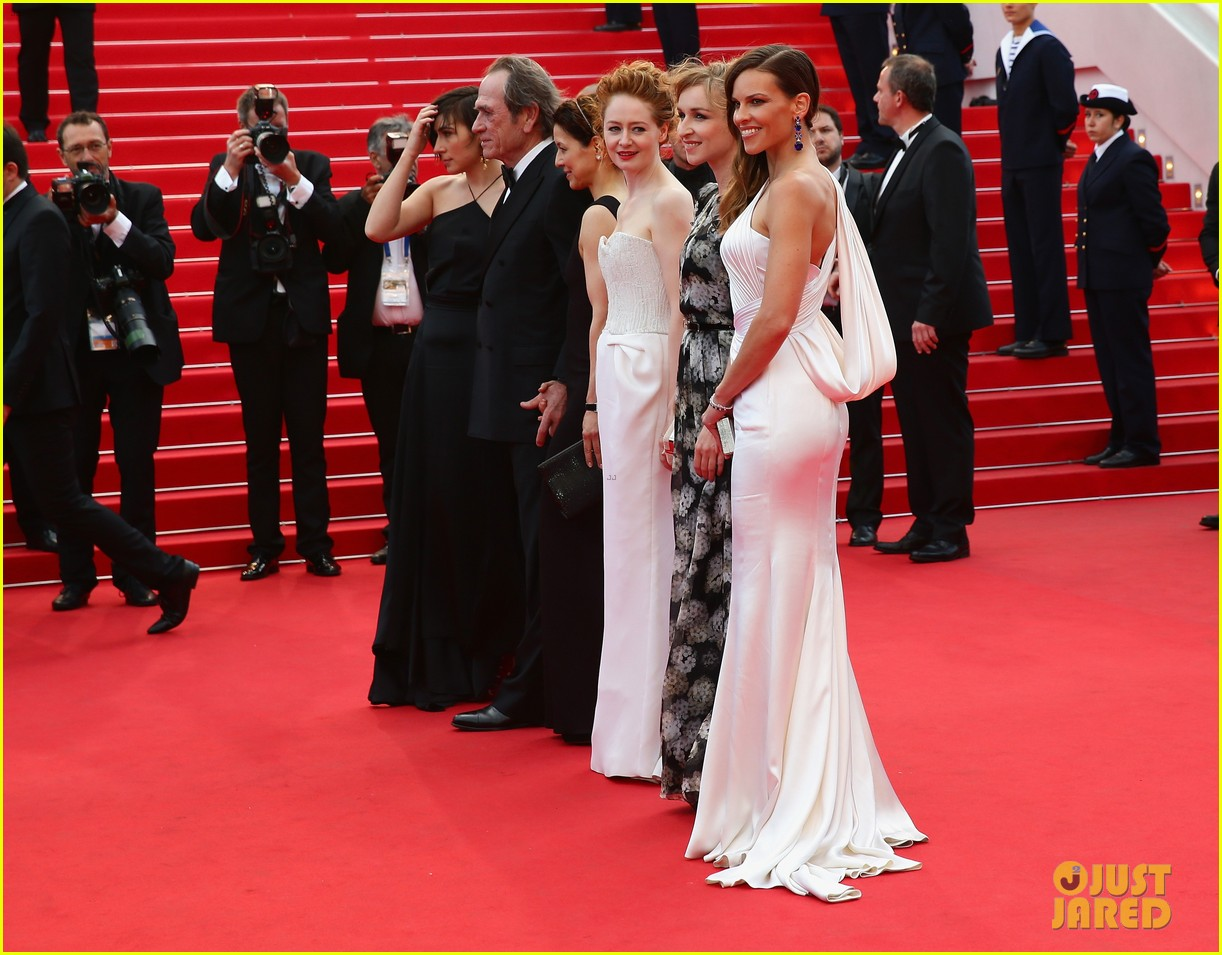 hilary swank the homesman premiere photo call cannes 21