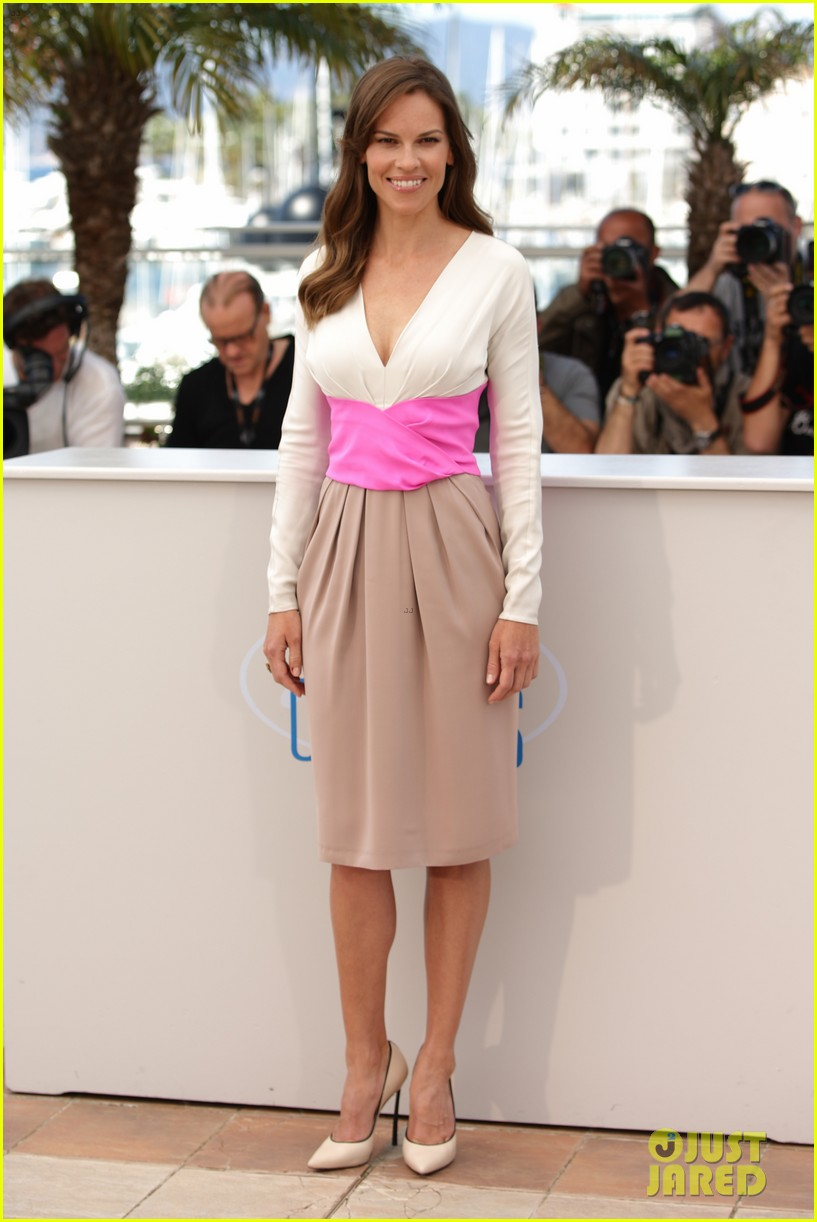 hilary swank the homesman premiere photo call cannes 263116459