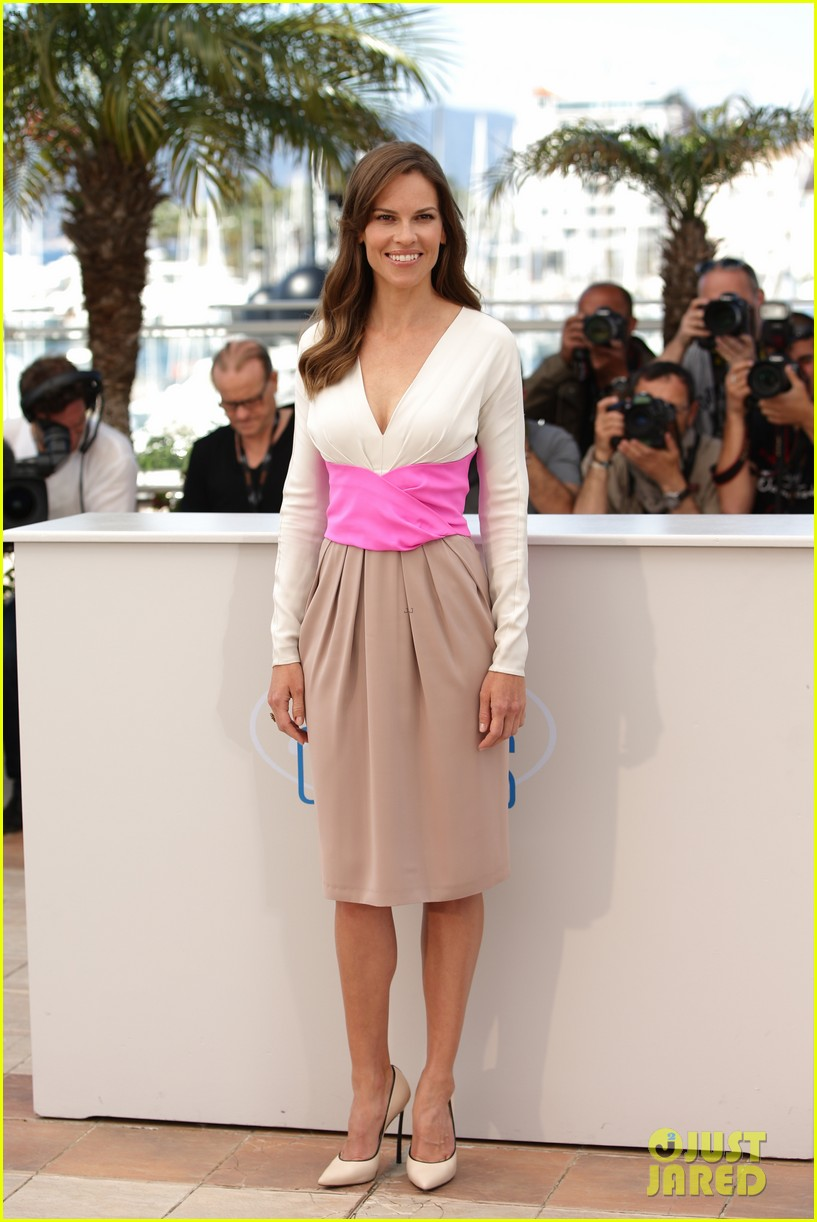 hilary swank the homesman premiere photo call cannes 273116460