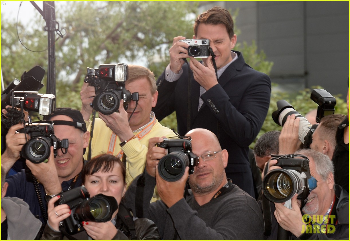 channing tatum foxcatcher cannes photo call 103117328