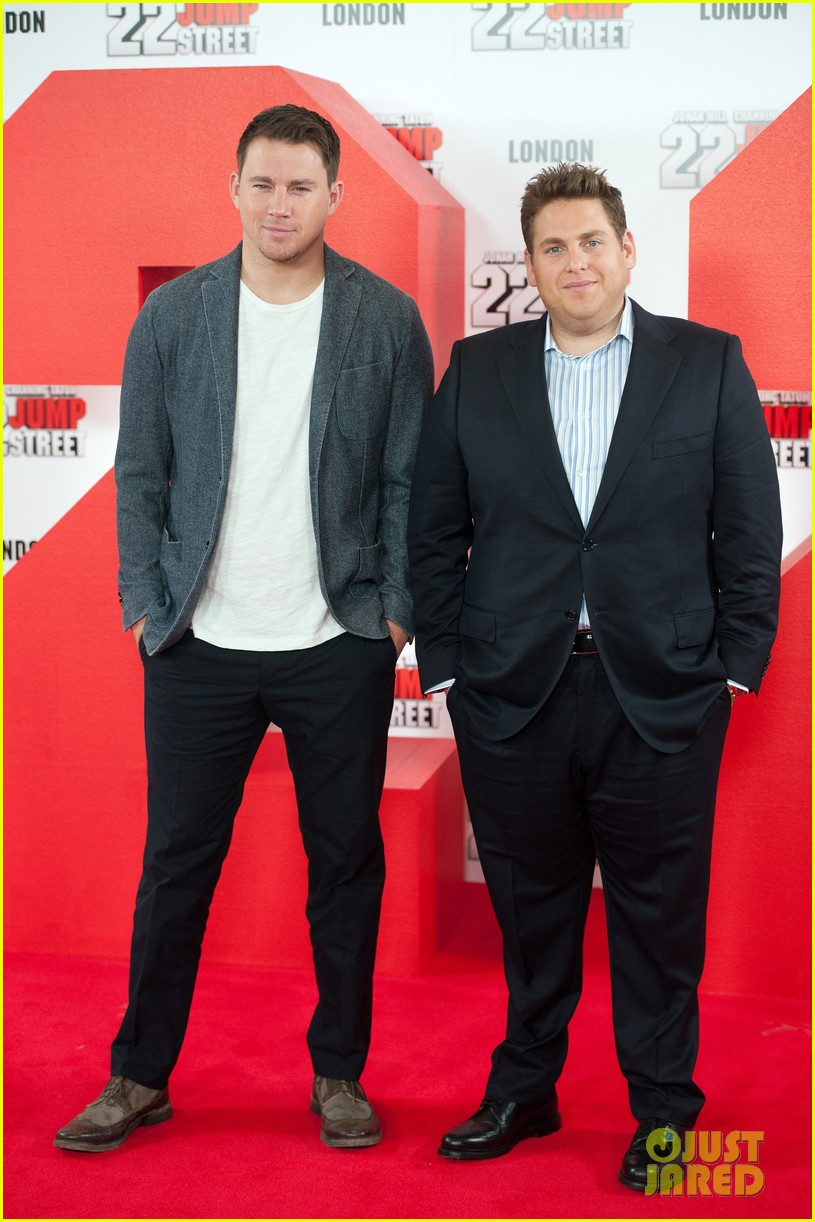 channing tatum jonah hill 22 jump street photo call 103119767