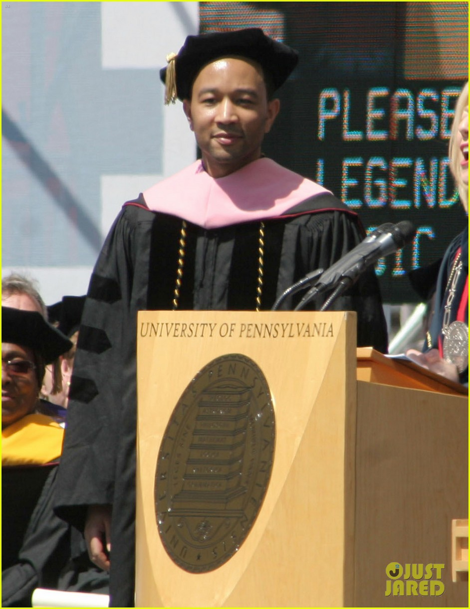 chrissy teigen john legend university of pennsylvania honorary degree 013118185