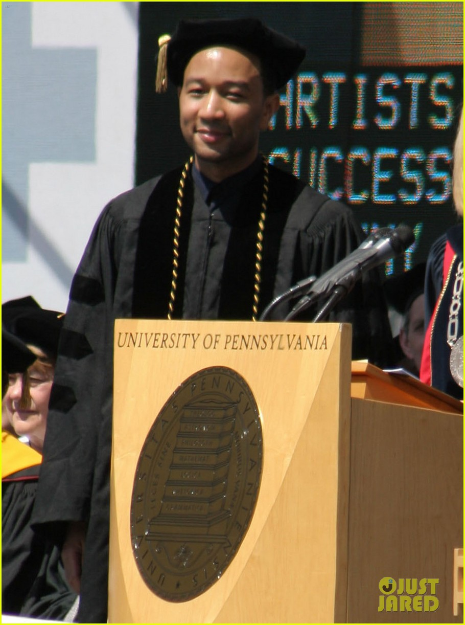 chrissy teigen john legend university of pennsylvania honorary degree 053118189