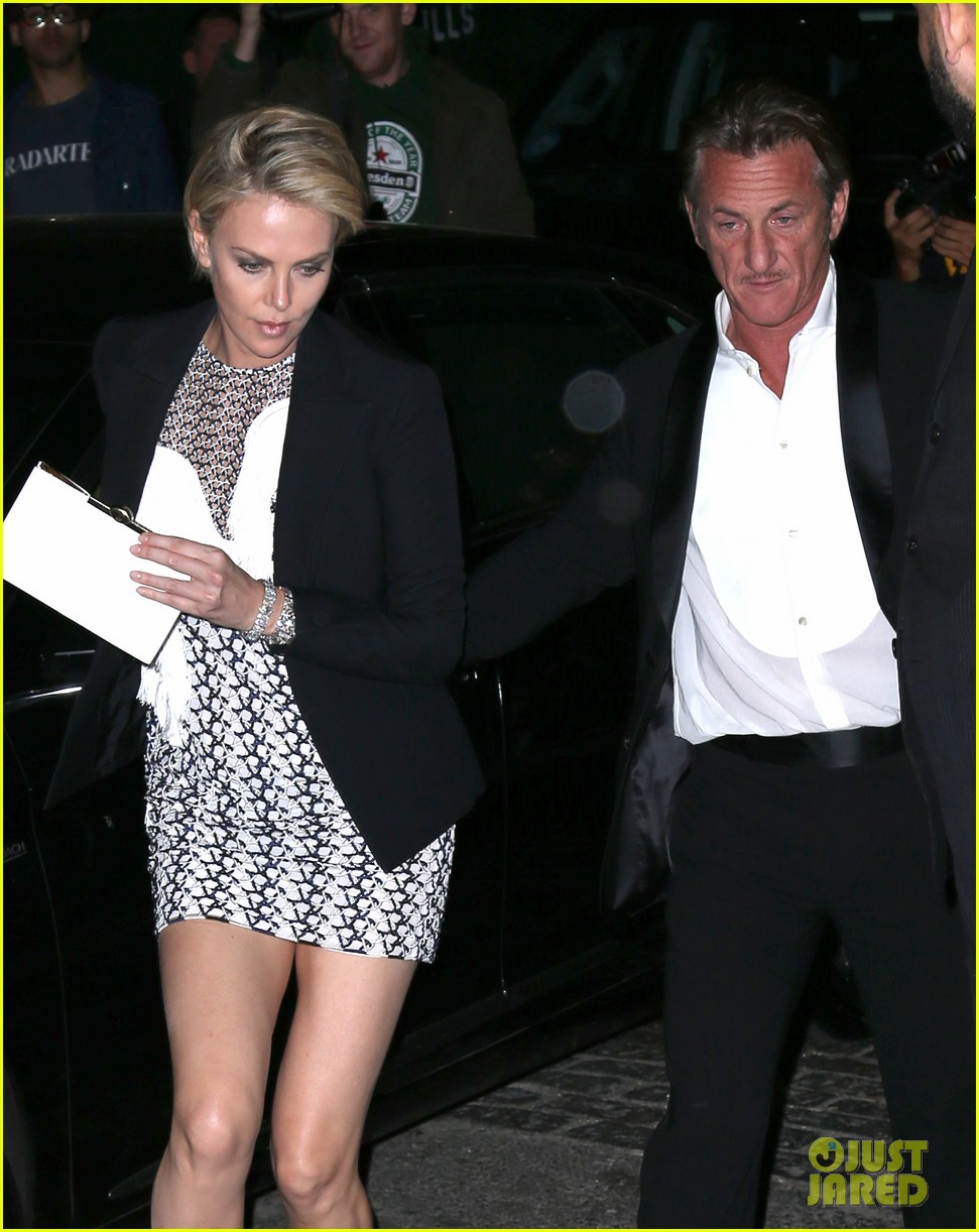 charlize theron sean penn keep the night going at met ball 2014 after party 023106807