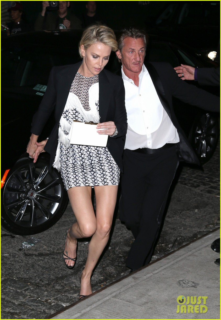 charlize theron sean penn keep the night going at met ball 2014 after party 03