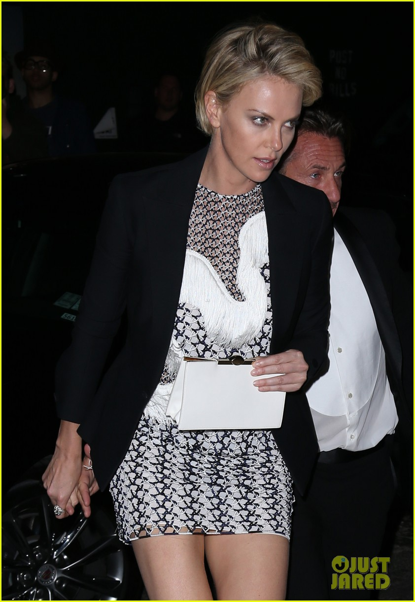 charlize theron sean penn keep the night going at met ball 2014 after party 053106810