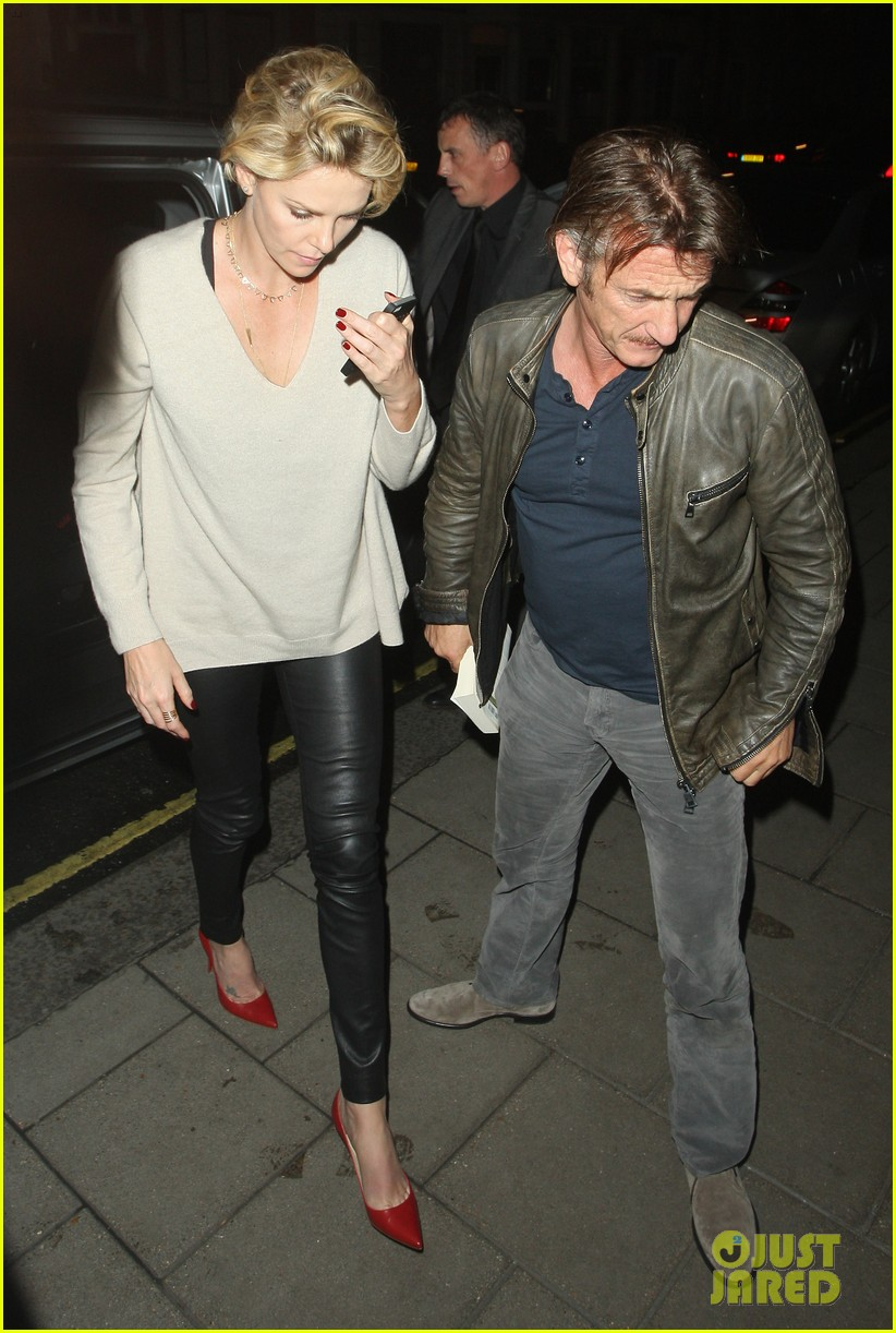 charlize theron call it a night after late night dinner in london 023123768