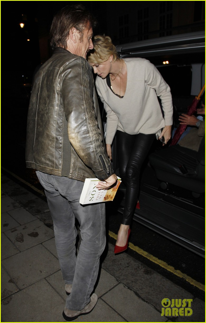 charlize theron call it a night after late night dinner in london 043123770