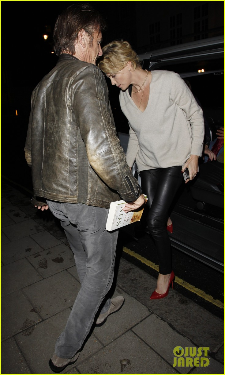 charlize theron call it a night after late night dinner in london 103123776