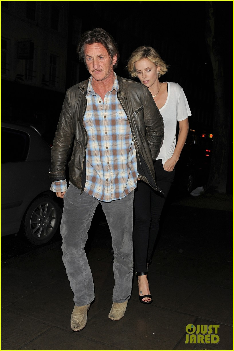charlize theron sean penn step out for memorial day dinner 053122499
