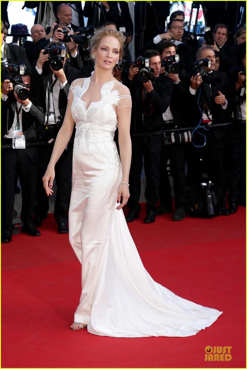 uma thurman adrien brody cannes closing ceremony 013121238