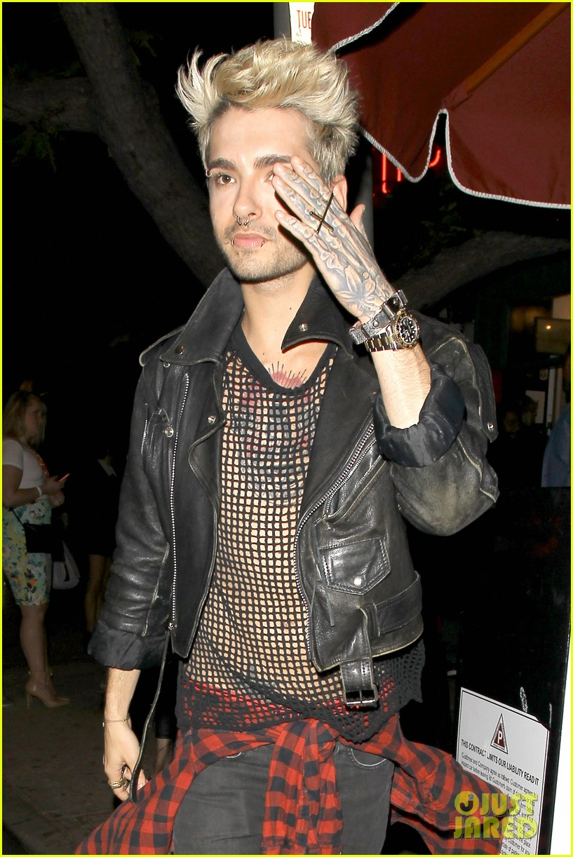 bill tom kaulitz make rare public appearance 013109452