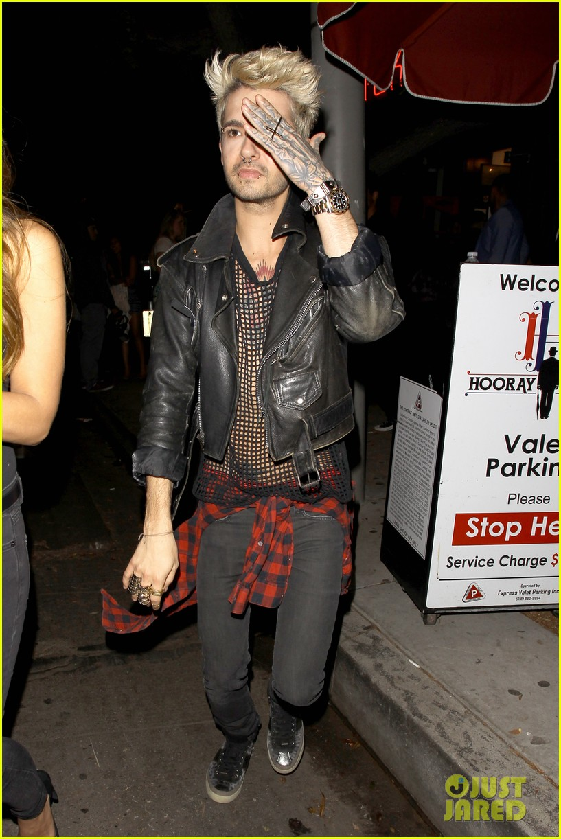bill tom kaulitz make rare public appearance 043109455