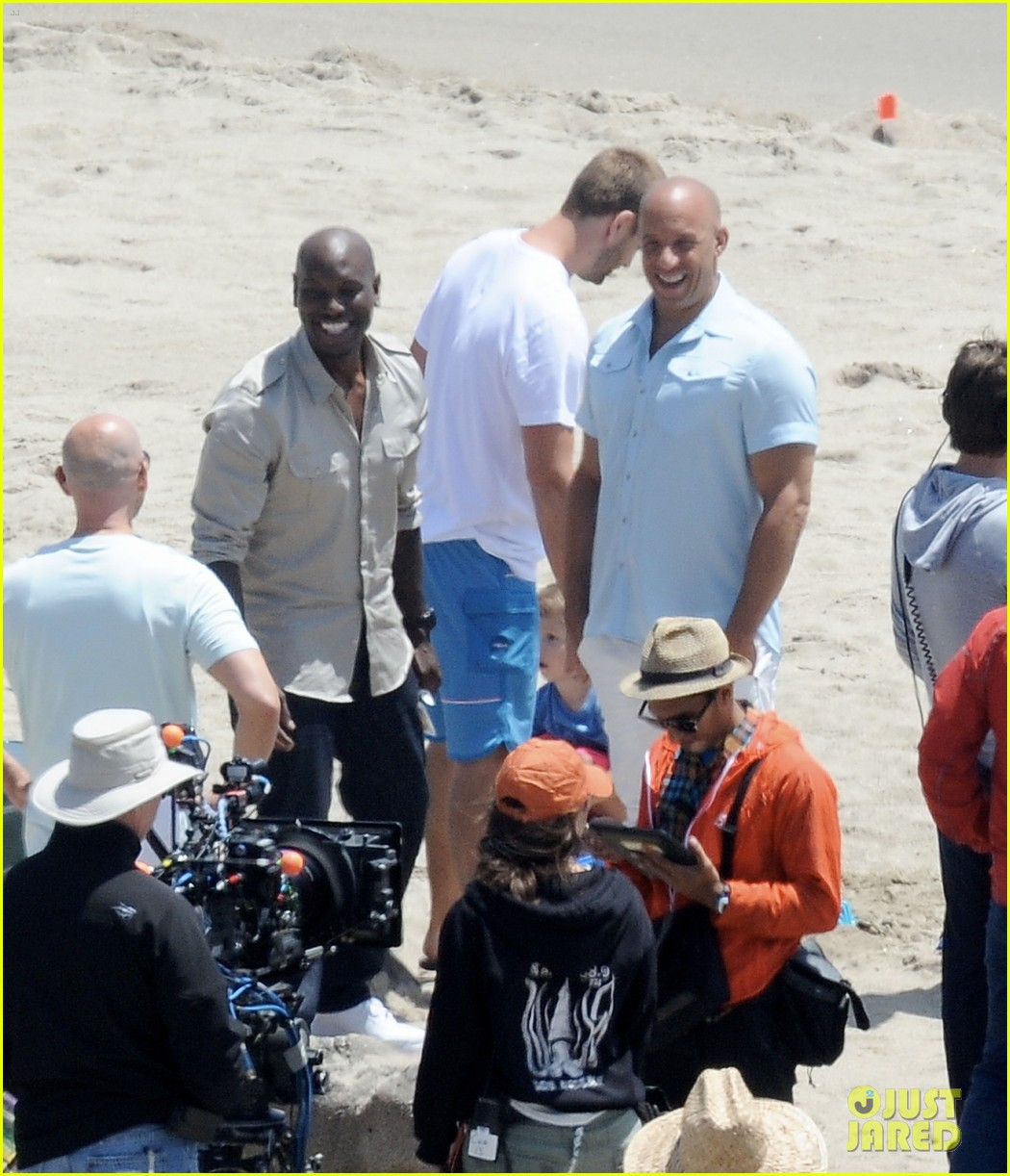 paul walkers brothers get to work on fast furious 7 with the cast 053118125